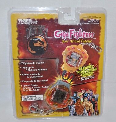 1998 Giga Fighters Your Virtual Fighter Mortal Kombat Triology New Sealed