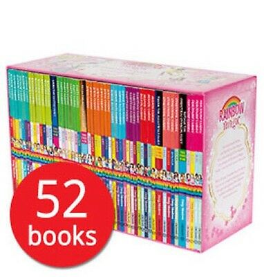 A Year of Rainbow Magic Fairies Box Set Collection 52 Books
