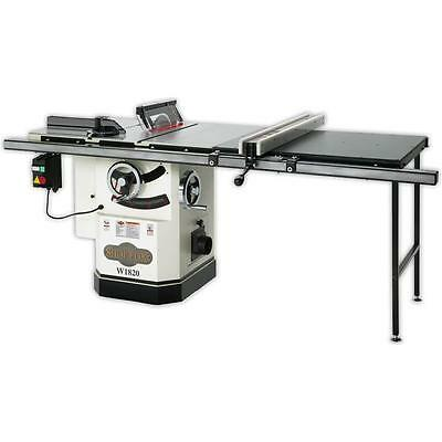 """W1820 Cabinet  Tablesaw 10""""  3HP 50"""" Fence Free  Shipping"""