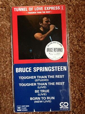 "Springsteen Japan 3"" CD Tunnel of Love Express I"