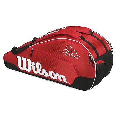 Wilson Federer Team III 6 Racket Bag - CLEARANCE