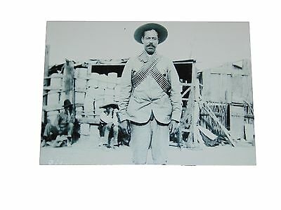 Pancho Villa Refrigerator Magnet Size 5 X 7 Inches New Aluminum