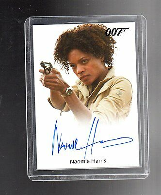 2016 James Bond Classics Autograph Naomie Harris  card