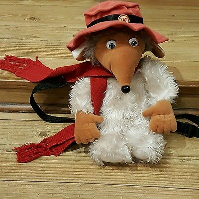 Womble Vintage 1998 Soft Toy Bag