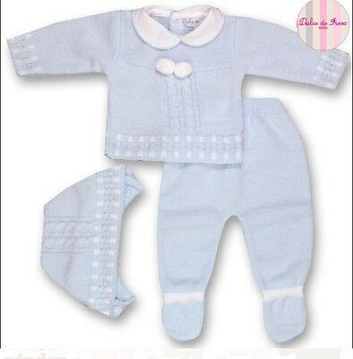 Spanish Knitted boys set