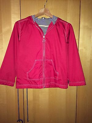 Red showerproof jacket from Little Mites age 8-9 years (but large for size)