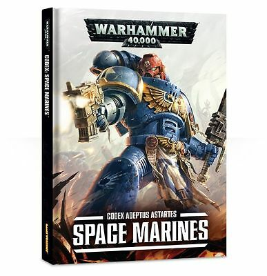 Warhammer 40k CODEX: Space Marines (Brand NEW)