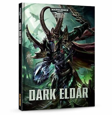 Warhammer 40k CODEX: Dark Eldar (Brand NEW)