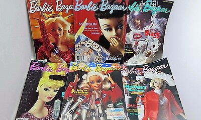 Barbie Bazaar Magazine 1996 Complete Year Six Issues