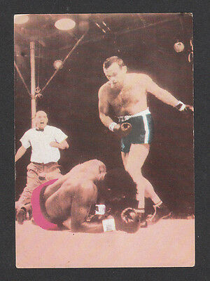 Ingemar Johanson Vintage 1968 Boxing Card from Spain