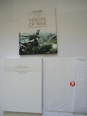 Warhammer 40k Space Marine Battles Visions of War New Limited Edtn Black Library