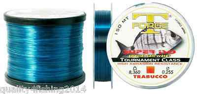 TRABUCCO T-FORCE SUPER ISO 150mt. and 300mt. Fishing line for Saltwater