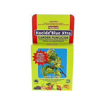 Kocide Blue Xtra Garden Fungicide Fruit Trees and Vegetables 30g