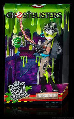 SDCC 2016 Mattel Exclusive Monster High GHOSTBUSTERS FRANKIE STEIN DOLL