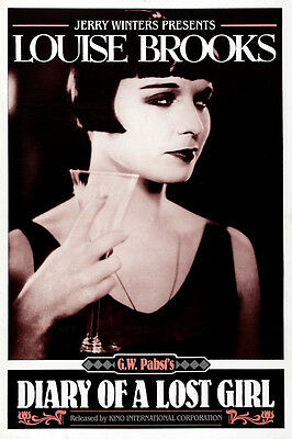DIARY OF A LOST GIRL Movie POSTER 11x17 D Louise Brooks Fritz Rasp Josef