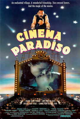 CINEMA PARADISO Movie POSTER C 27x40 Philippe Noiret Jacques Perrin