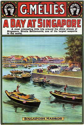 A DAY AT SINGAPORE Movie POSTER 27x40