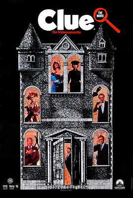 CLUE Movie POSTER PRINT C 27x40 Lesley Ann Warren Tim Curry Martin Mull