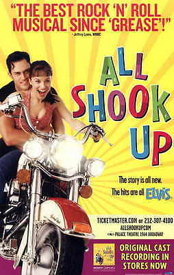 ALL SHOOK UP (BROADWAY) Movie POSTER 11x17