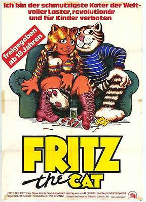 FRITZ THE CAT Movie POSTER 11x17 German