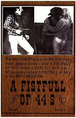 FISTFULL OF 44'S Movie POSTER 27x40