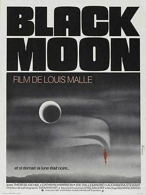 BLACK MOON Movie POSTER 27x40 French Therese Giehse Cathryn Harrison Joe
