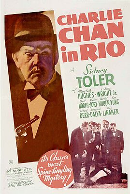 CHARLIE CHAN IN RIO Movie POSTER 27x40