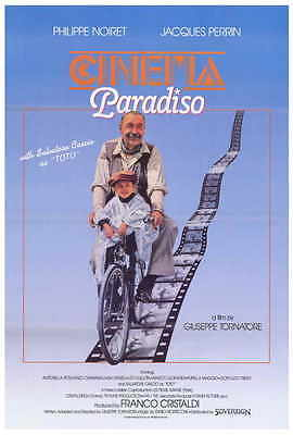 CINEMA PARADISO Movie POSTER 27x40 Philippe Noiret Jacques Perrin Salvatore