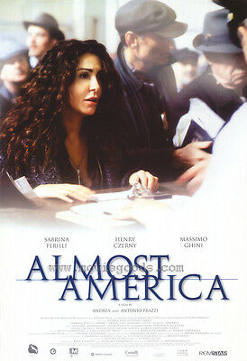 2001 ALMOST AMERICA Movie POSTER 27x40