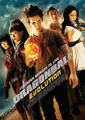 DRAGONBALL EVOLUTION Movie POSTER 27x40 Justin Chatwin Joon Park Christopher