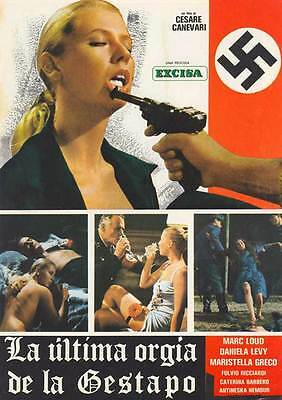 LAST ORGY OF THE THIRD REICH Movie POSTER 27x40