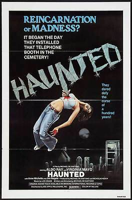 HAUNTED Movie POSTER 27x40