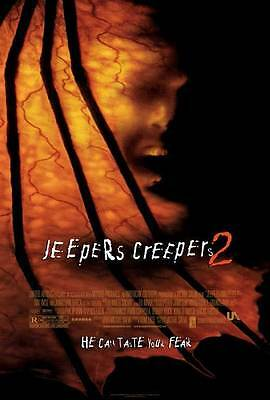 JEEPERS CREEPERS 2 Movie POSTER 27x40 Ray Wise Jonathan Breck Travis Schiffner