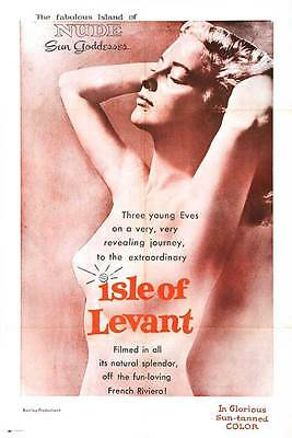 ISLE OF LEVANT Movie POSTER 27x40
