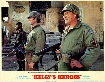 KELLY'S HEROES Movie POSTER 11x14 D Clint Eastwood Donald Sutherland Telly