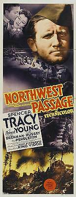 NORTHWEST PASSAGE Movie POSTER 14x36 Insert