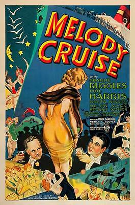 MELODY CRUISE Movie POSTER 27x40