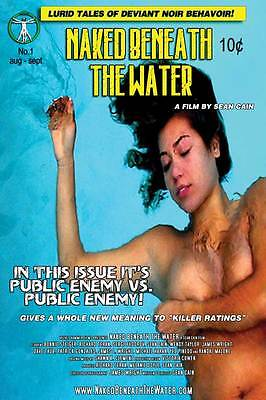 NAKED BENEATH THE WATER Movie POSTER 27x40 C