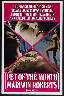 PET OF THE MONTH: MARIWIN ROBERTS Movie POSTER 27x40