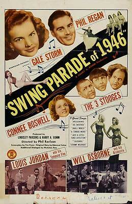SWING PARADE OF 1946 Movie POSTER 27x40