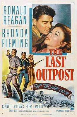 THE LAST OUTPOST Movie POSTER 27x40 B