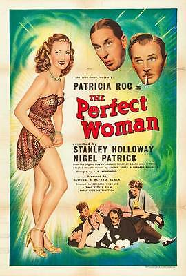 THE PERFECT WOMAN Movie POSTER 27x40 UK Patricia Roc Stanley Holloway Nigel