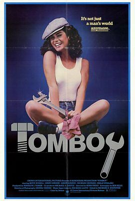 TOMBOY Movie POSTER 27x40 Betsy Russell Eric Douglas Jerry Dinome Kristi Somers