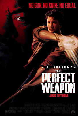 THE PERFECT WEAPON Movie POSTER 27x40 B Jeff Sanders Jeff Speakman
