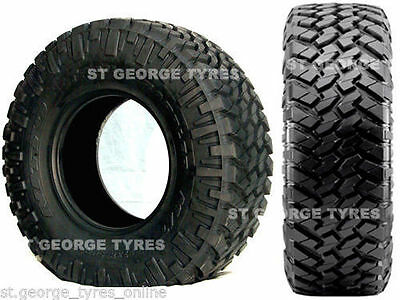 4 X New 285-65-18 2856518 285/65R18 Nitto Trail Grappler Mud M/t Tyres Tires