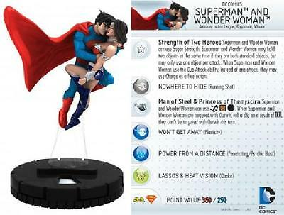 Superman and Wonder Woman #D-009 2013 Convention Exclusive Heroclix NM