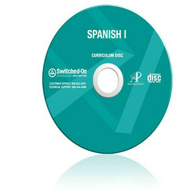 SOS Spanish 1 Homeschool Curriculum CD Grade 9 10 11 12 Switched On Schoolhouse