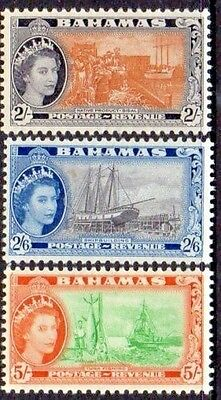 Bahamas 1954 SG #212-214 Fresh & Bright Mint Never Hinged singles