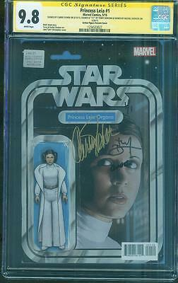 Star Wars Princess Leia 1 CGC 9.8 3X SS Figure Variant Carrie Fisher Dodson
