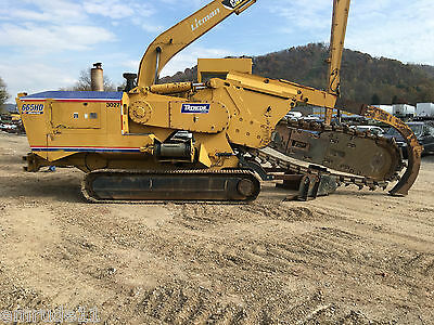 Trencor 665HD Maverick Trencher Diesel Ride-on Trencher Chain Stlye
